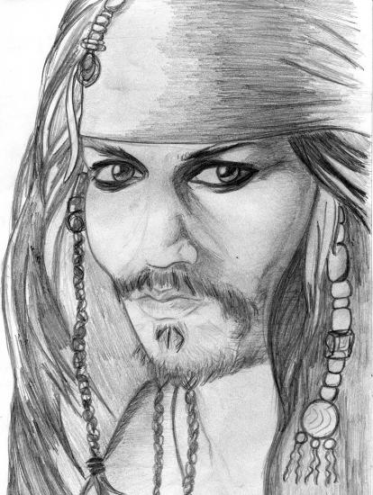 Johnny Depp by Danyka